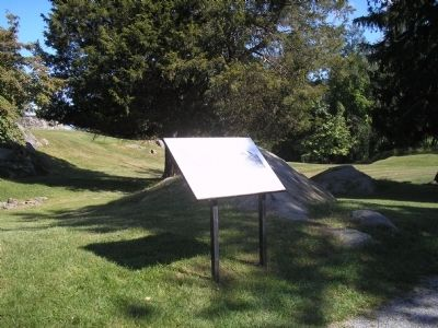 Marker on the Stony Point Battlefield image. Click for full size.