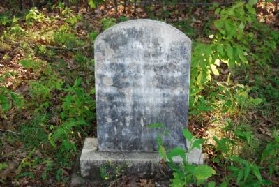 Jane Guillebeau Tombstone image. Click for full size.