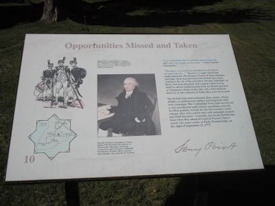 Opportunities Missed and Taken Marker image. Click for full size.