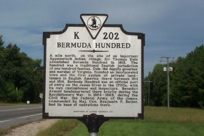 Bermuda Hundred Marker image. Click for full size.