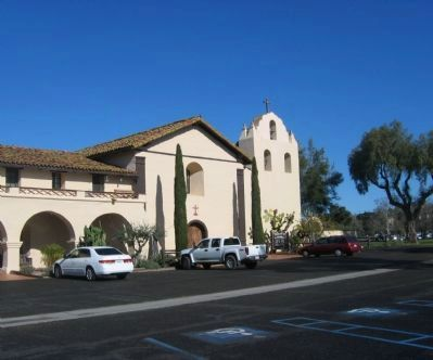 Mission Santa Ines image. Click for full size.