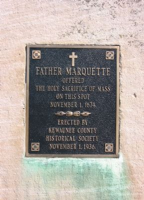 Father Marquette Marker image. Click for full size.