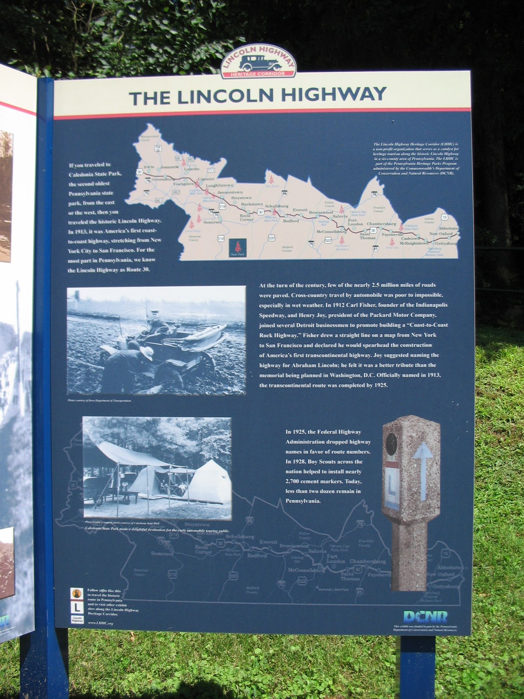 The Lincoln Highway Panel