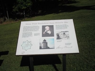 Stony Point Battlefield State Historic Site Marker image. Click for full size.