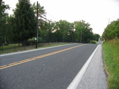 The Emmitsburg Road Looking North toward Gettysburg image. Click for full size.