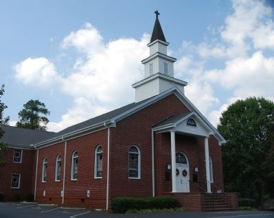Oolenoy Baptist Church image. Click for full size.