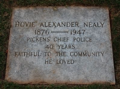 Hovie Alexander Nealy Marker image. Click for full size.