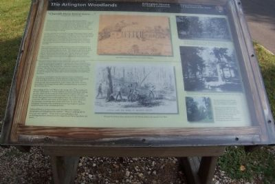 The Arlington Woodlands Marker image. Click for full size.