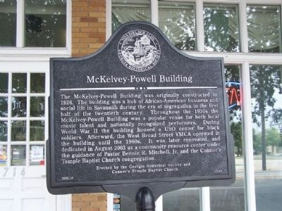 McKelvey-Powell Building Marker image. Click for full size.