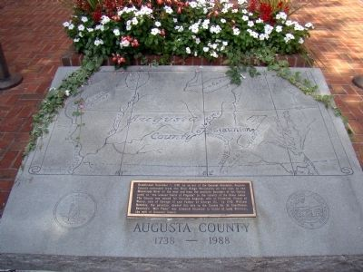 Augusta County Monument image. Click for full size.