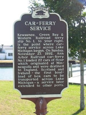 Car – Ferry Service Marker image. Click for full size.