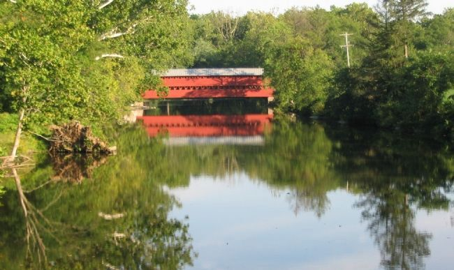 Sachs Covered Bridge image. Click for full size.