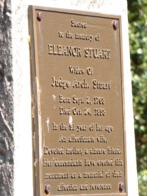 Eleanor Stuart Marker image. Click for full size.