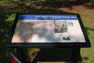 The Hagood-Mauldin House Marker image. Click for full size.