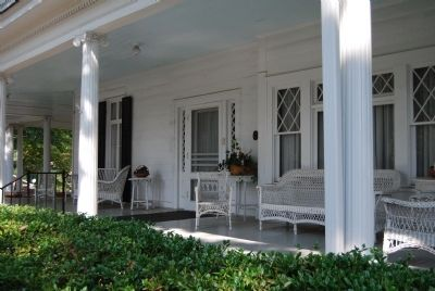 Hagood-Mauldin House - Greek Revival Porch image. Click for full size.