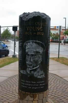 Colonel Charles Young Marker image. Click for full size.