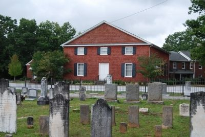 Greenville Presbyterian Church and Cemetery image. Click for full size.
