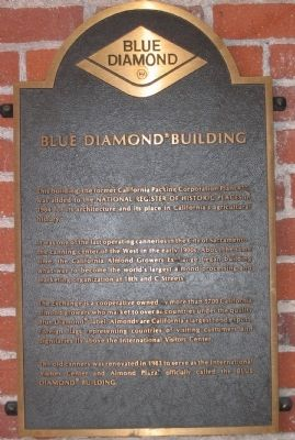 Blue Diamond Building Marker image. Click for full size.