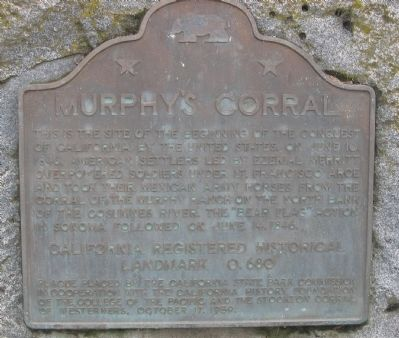 Murphy's Corral Marker image. Click for full size.