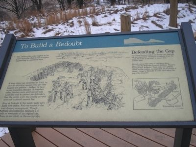 To Build a Redoubt Marker image. Click for full size.