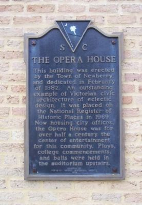 The Opera House Marker image. Click for full size.