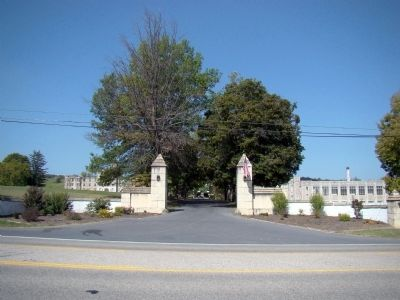 Augusta Military Academy Gates image. Click for full size.