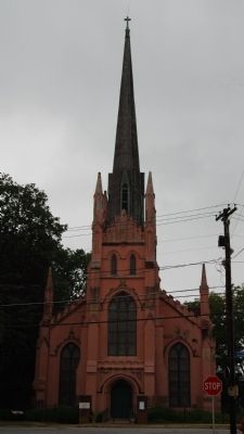 Trinity Episcopal Church -<br>East (Front) Facade image. Click for full size.