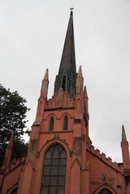 Trinity Episcopal Church -<br>Steeple and Spires image. Click for full size.