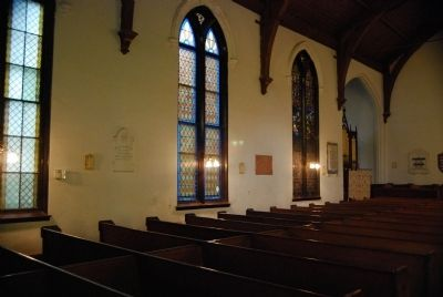 Trinity Episcopal Church Interior (Southwest Wall) image. Click for full size.
