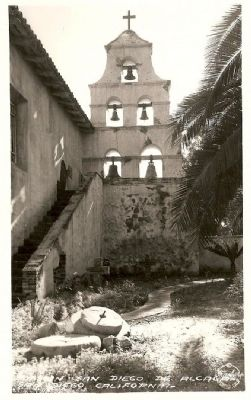 Mission San Diego de Alcala - San Diego, California image. Click for full size.