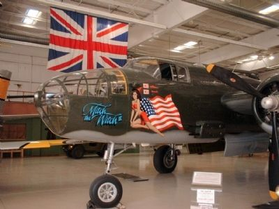 The Doolittle Raiders used B-25s like this image. Click for full size.