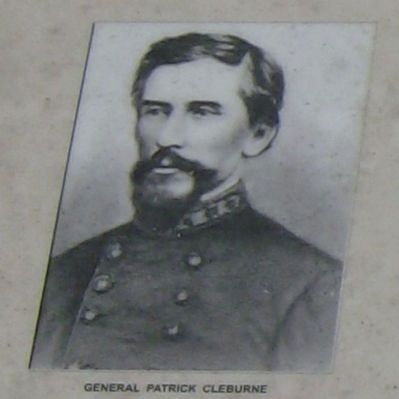 Catlett's Gap General Cleburne image. Click for full size.