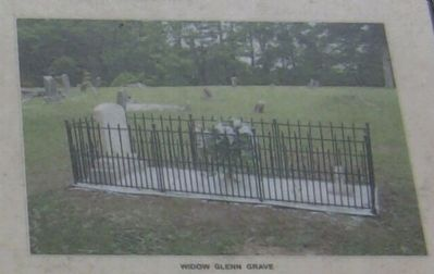 Widow Glenn's Grave image. Click for full size.