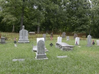 The Cove Cemetery image. Click for full size.