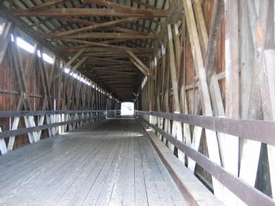 Knights Ferry Covered Bridge image. Click for full size.