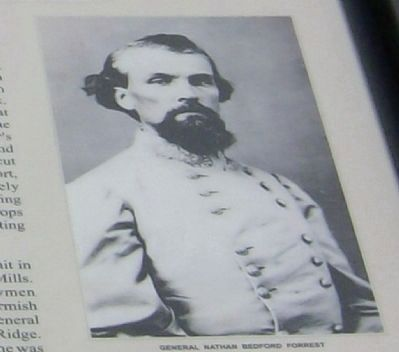 Confederate General Nathan B. Forrest image. Click for full size.
