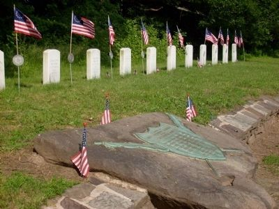 Unknown Soldiers of the Continental Army Marker image. Click for full size.