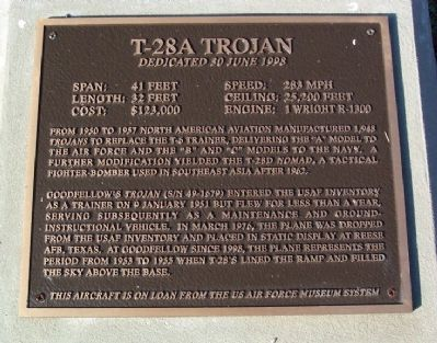 T-28A Trojan Marker image. Click for full size.