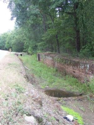 Bush Drive section , Todays remains ,Ogeechee Canal image. Click for full size.
