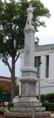 Laurens Confederate Monument image. Click for full size.