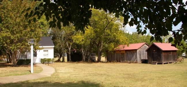 Original outbuildings at the Mable House image. Click for full size.