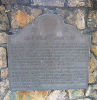 Mormon Tavern Marker image. Click for full size.