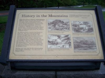 History in the Mountains Marker image. Click for full size.