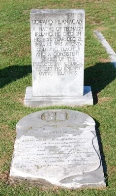 Edward Flanagan Tombstone image. Click for full size.
