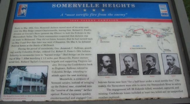 Somerville Heights Marker image. Click for full size.