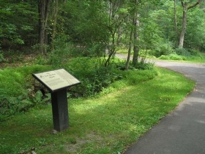 Marker in Morristown National Historical Park	 image. Click for full size.