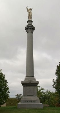 Wade monument image. Click for full size.