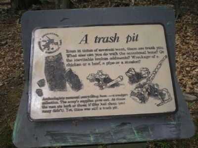 A Trash Pit Marker image. Click for full size.