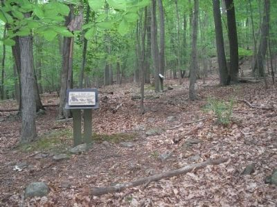 New Jersey Brigade Area Markers image. Click for full size.