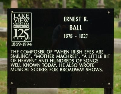 Ernest R. Ball Marker image. Click for full size.